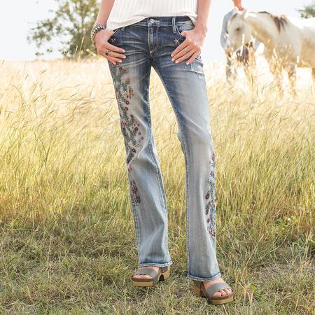 KELLY STRAWBERRY BLOSSOM JEANS