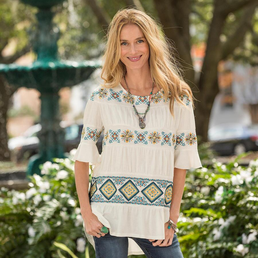 ALHAMBRA TIERED TEE