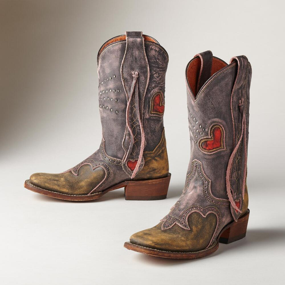 Heart Of A Cowgirl Boots | Robert Redford&39s Sundance Catalog