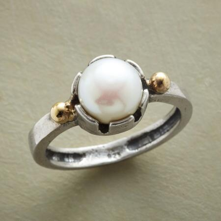 PEARL TURRET RING