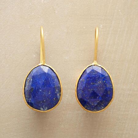 ELEGANZA LAPIS EARRINGS