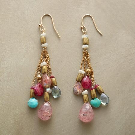 PRECIOUS PLUME EARRINGS