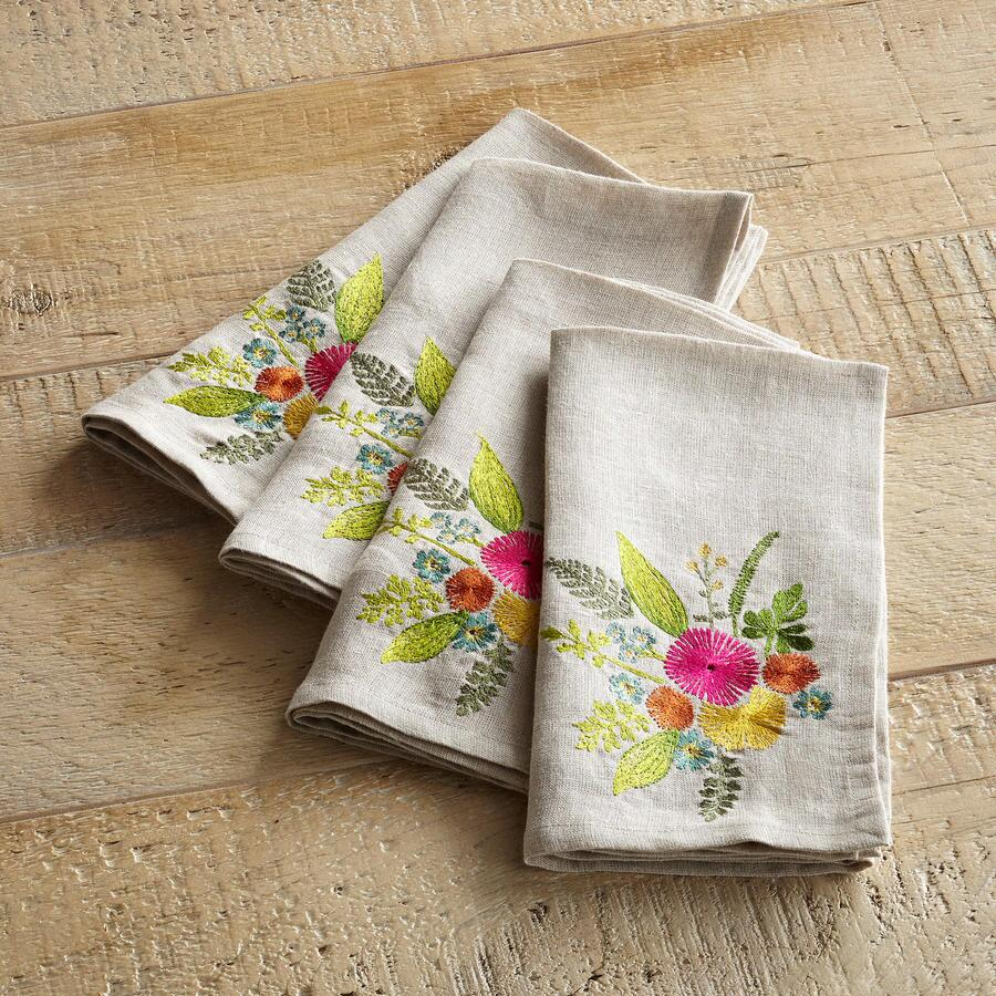 MARJOLAINE NAPKINS 4PC