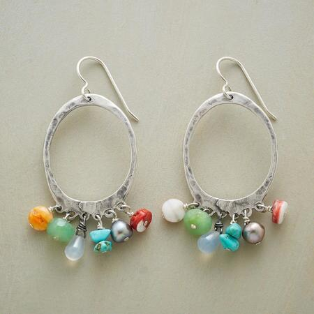 HARMONIC HOOP EARRINGS