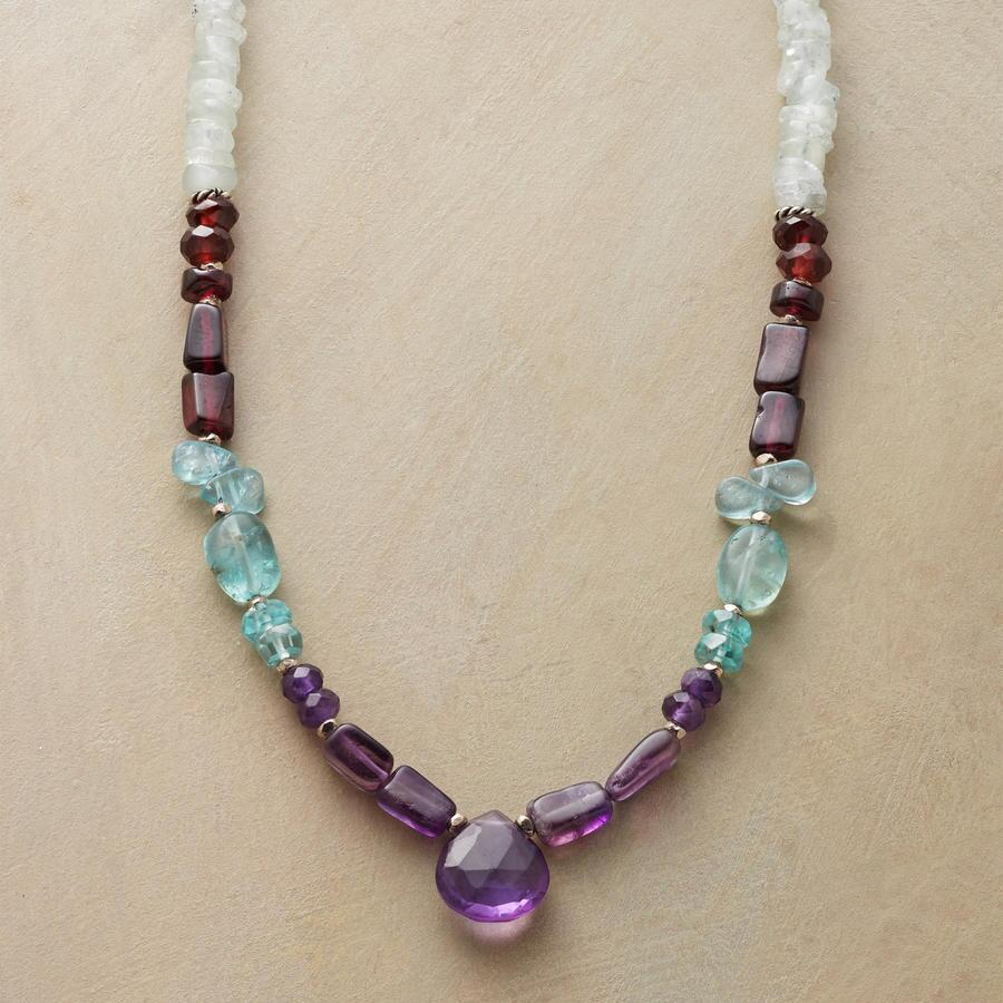 MINT MELANGE NECKLACE