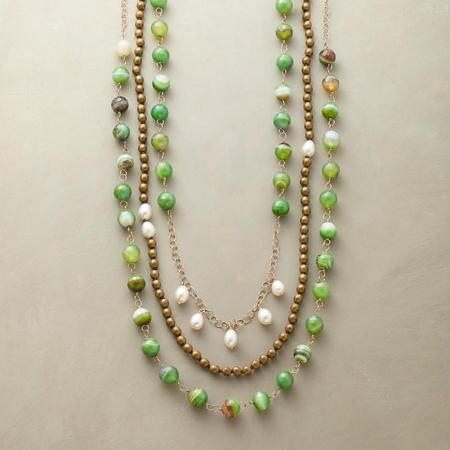 FOREVER GREEN NECKLACE