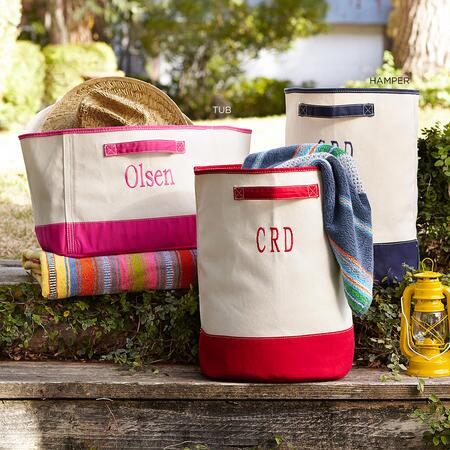 SEAFARER PERSONALIZED CANVAS TOTE