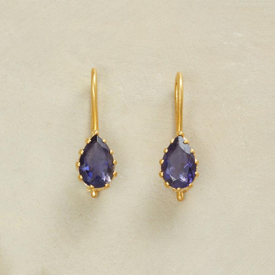 HOLD TIGHT IOLITE EARRINGS
