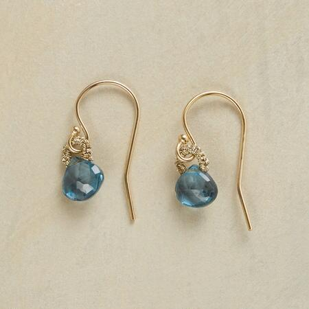 BLINK OF BLUE EARRINGS
