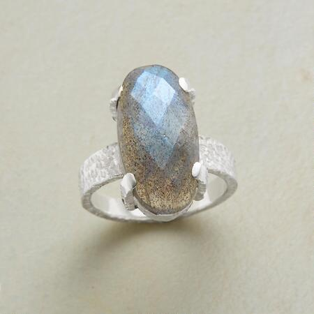 UNMISTAKABLE LABRADORITE RING