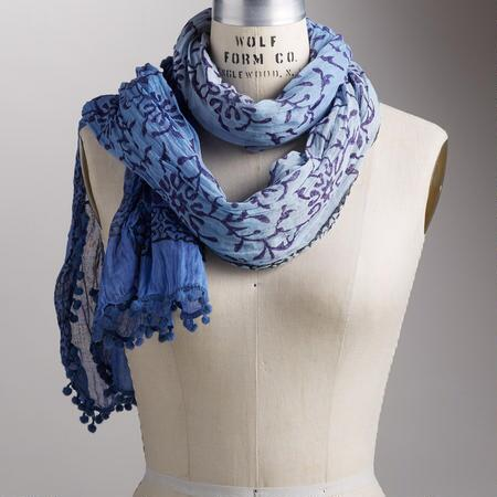 MOONLIT BRANCHES SCARF
