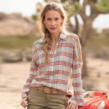 PAINTED DESERT PLAID SHIRT