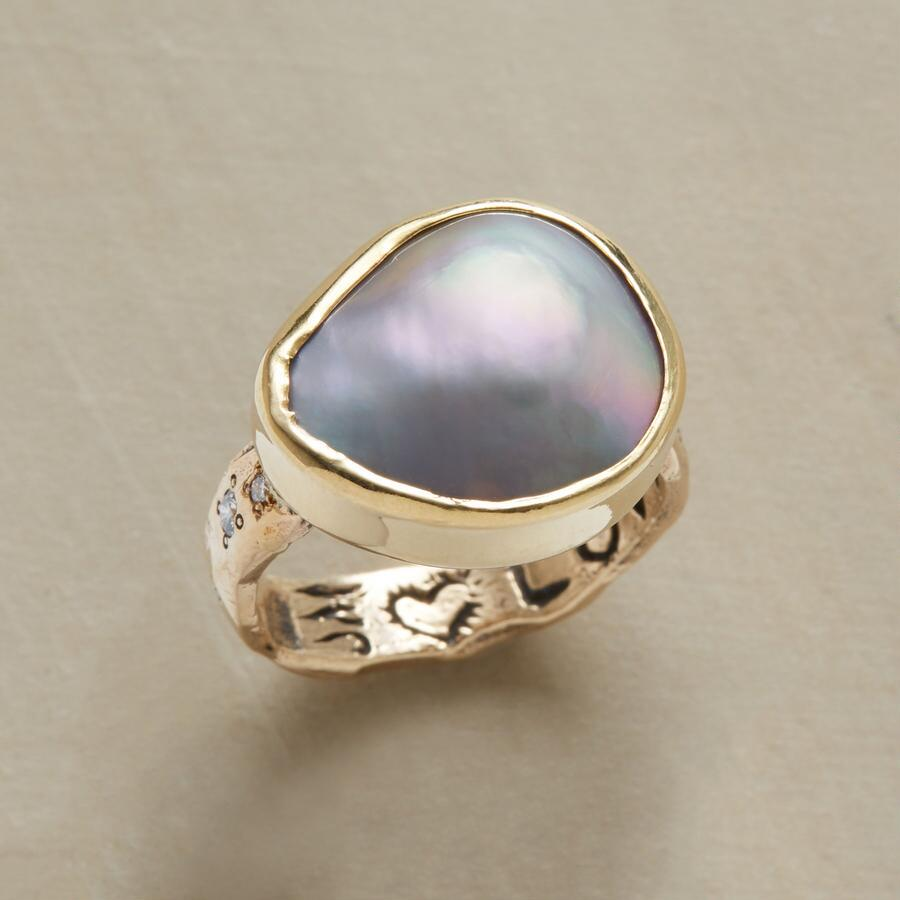 CORTEZ PEARL RING