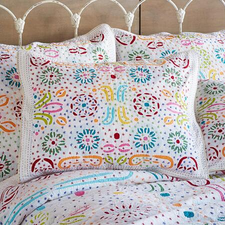 CONSTELLATIONS LIGHTWEIGHT CUTWORK SHAM