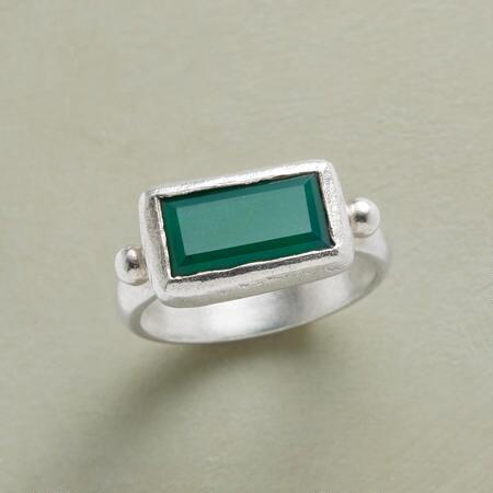 SLICE OF GREEN RING