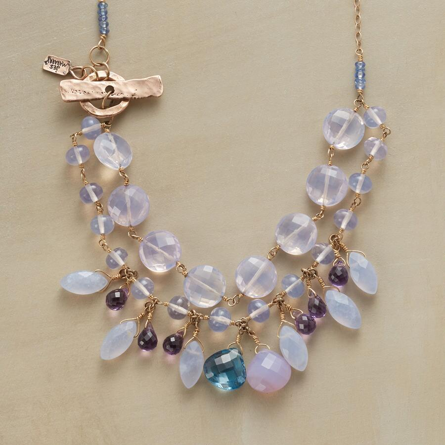 LAVENDER QUARTZ NECKLACE