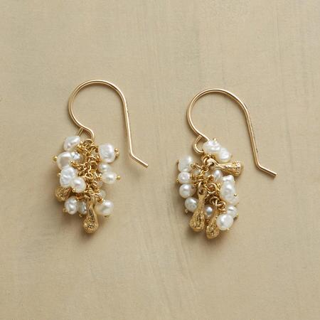 PEARL PROFUSION EARRINGS