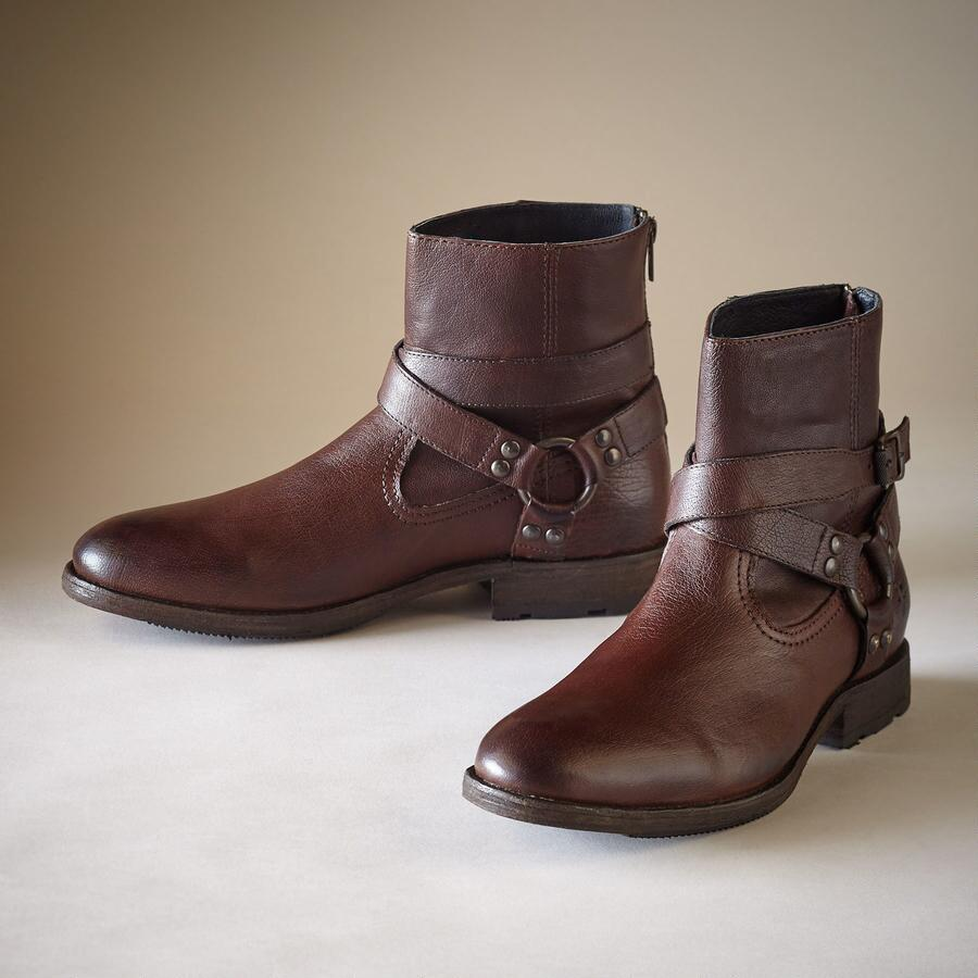 ETHAN HARNESS BOOTS