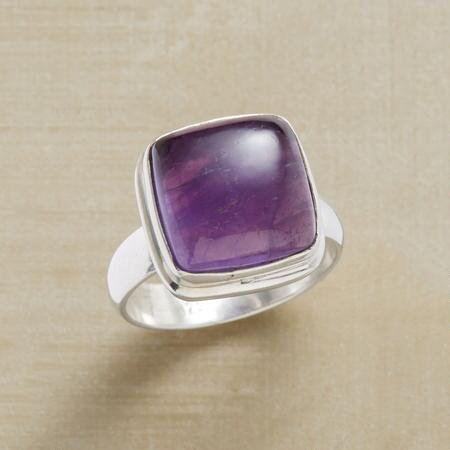 ELEVATED AMETHYST RING