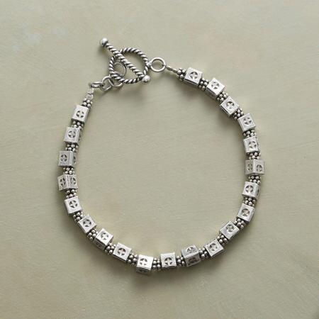 ACROSS THE SQUARE BRACELET