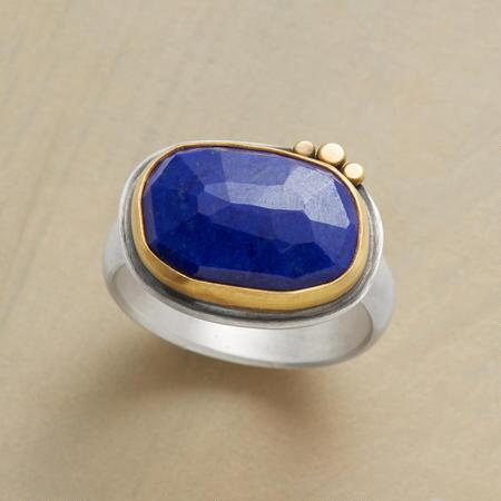 EXCEPTIONAL LAPIS RING