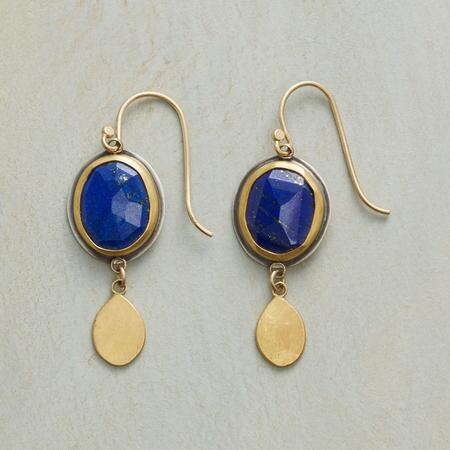 EXCEPTIONAL LAPIS EARRINGS