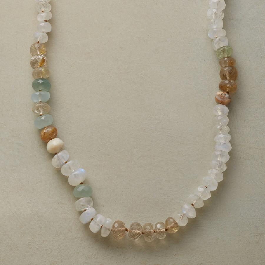 MOONSTONES AND MORE NECKLACE