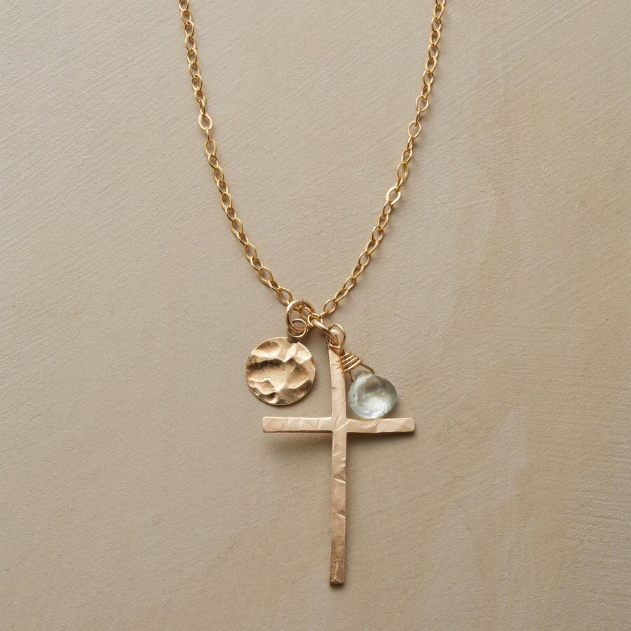 SKYLINE CROSS NECKLACE