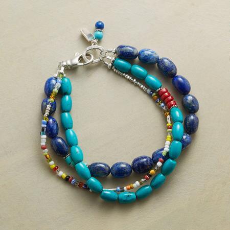 BLUES & BRIGHTS BRACELET