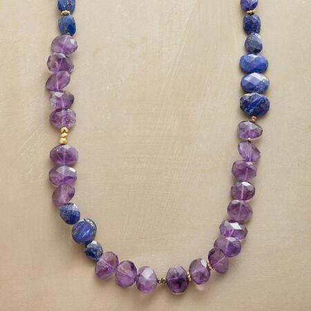 BALANCE IN BLUE NECKLACE