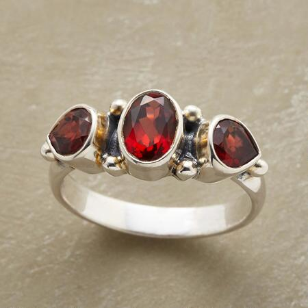 CRIMSON TRIO RING