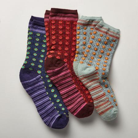 FIESTA SOCKS, SET OF 3