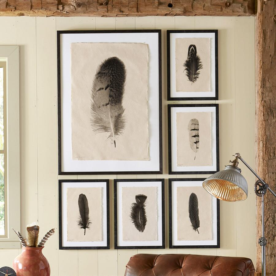 FEATHER STUDIES PRINT, SMALL