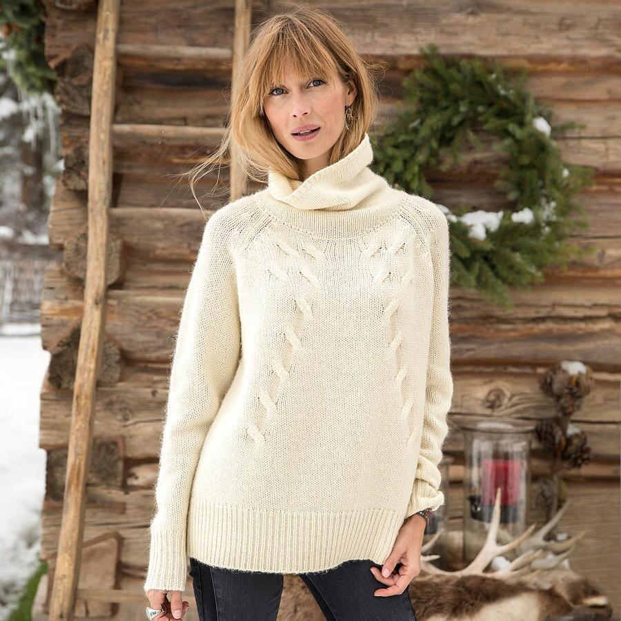 COZY CABLES SWEATER