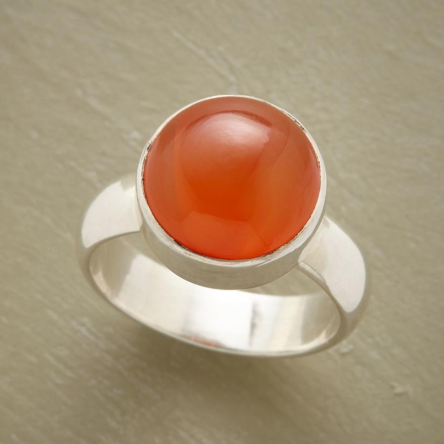SUNRISE IN SILVER RING