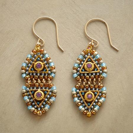 EGYPTIAN PRINCESS EARRINGS
