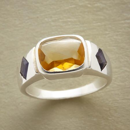 CITRINE SMOOTHIE RING