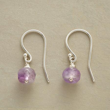 PLUM PURPLE EARRINGS