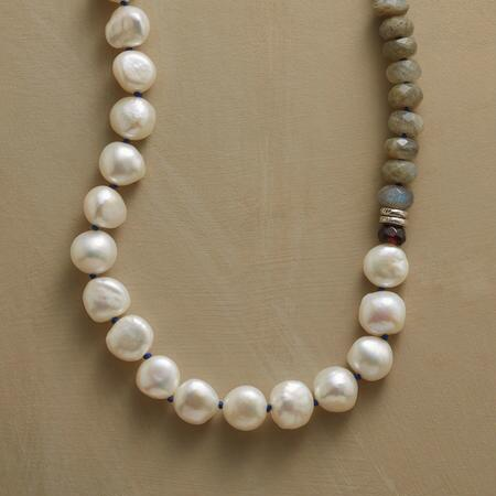 PEARL SEGMENT NECKLACE