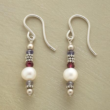 PEARL TOWER EARRINGS