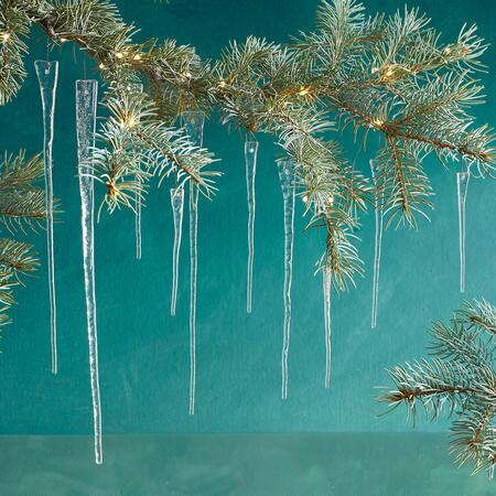 GLASS ICICLES