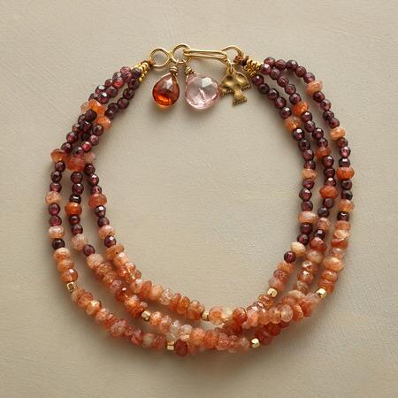AGLOW IN A ROW BRACELET