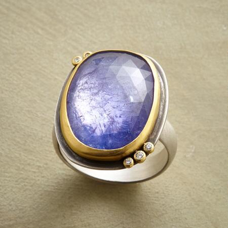 LILAC ICE RING