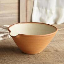 SIENNA STONEWARE SERVING BOWL