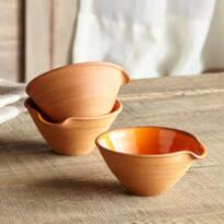 SIENNA STONEWARE SMALL BOWL, SET OF 3