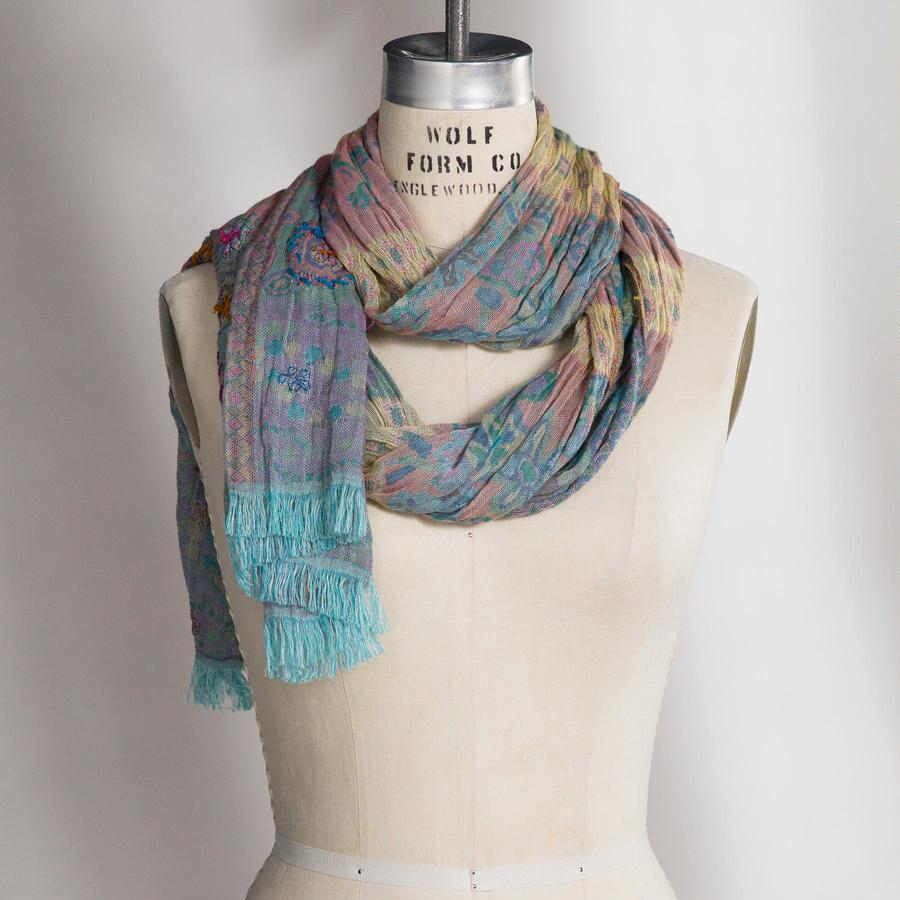 SPINNING STORIES SCARF
