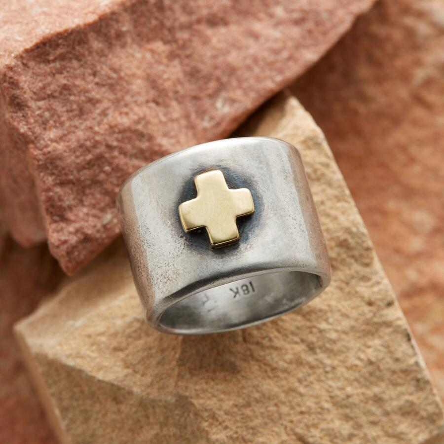 CROSS OF GOLD BAND