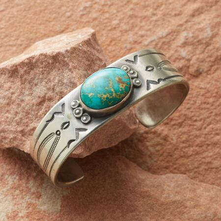 CLASSIC TURQUOISE CUFF