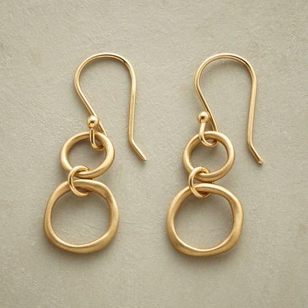 DOUBLE RINGS EARRINGS