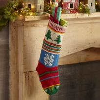 HEIRLOOM TREE FARM STOCKING